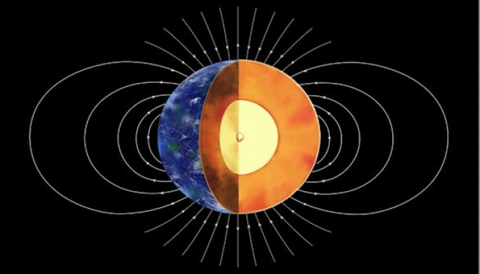An Andy Warhol Moment for Liverpool's Geomagnetism Group – dating the formation of the Earth's Inner core