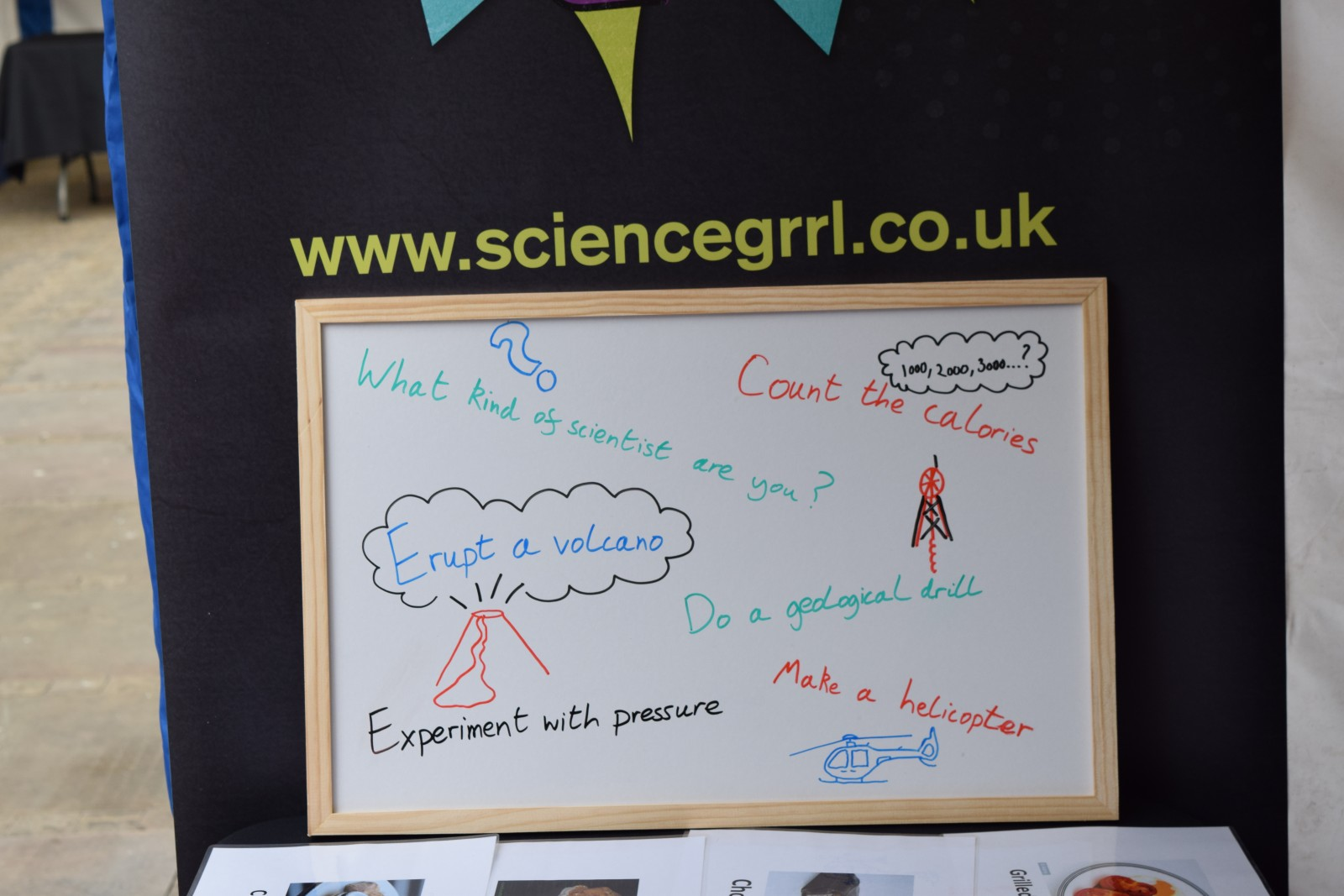 It is important for early career geoscientists to see science outreach as a significant part of their well-rounded career, be it within academia or industry. Credit: Natasha Dowey