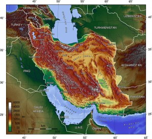 topography of iran source and licensing wikipedia