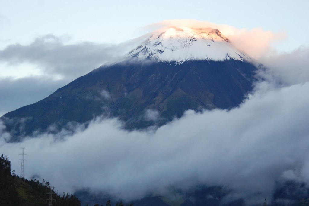 Photo 1 - tungurahua from the observatory