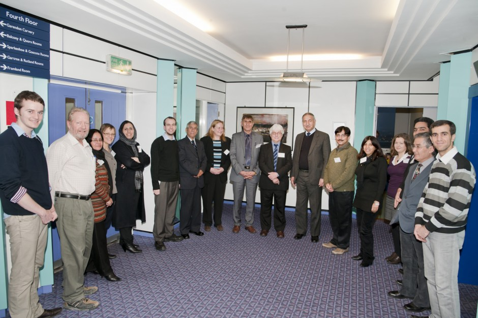 STRENGTHENING KABUL UNIVERSITY WORKSHOP: LEICESTER 2011 Credit: University of Leicester, used with permission.