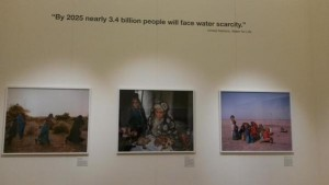 Members of the GfGD Bristol team also visited the exhibition recently. Credit: GfGD Bristol