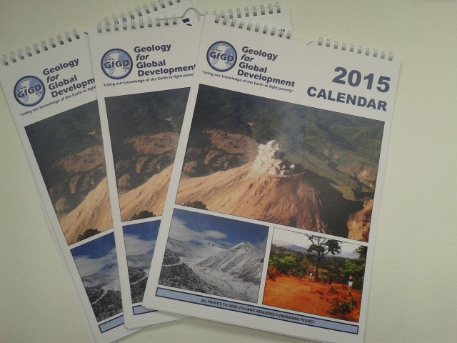 Our 2015 Calendar, featuring many images from Guatemala.