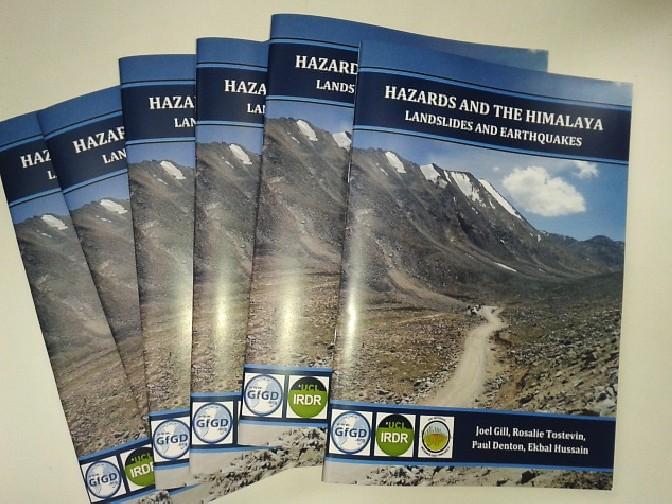 Hazards in the Himalaya Course Book (Written by Joel Gill, Rosalie Tostevin, Paul Denton, Ekbal Hussain)