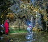 Križna jama cave, in Slovenia
