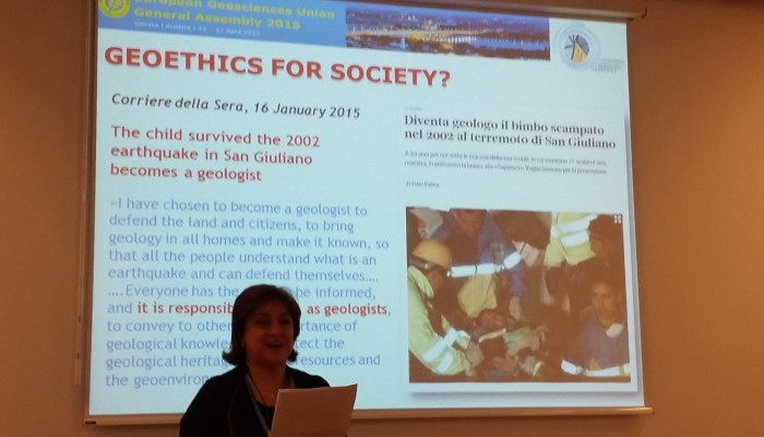 EGU15 Session Overview: Putting Geoethics at the Heart of Geoscience