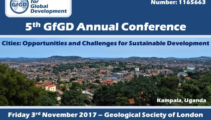 GfGD 5th Annual Conference: Cities, Geoscience, and Sustainable Development
