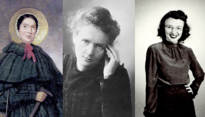 Three quotes from famous female scientists for the International Day of Women and Girls in Science