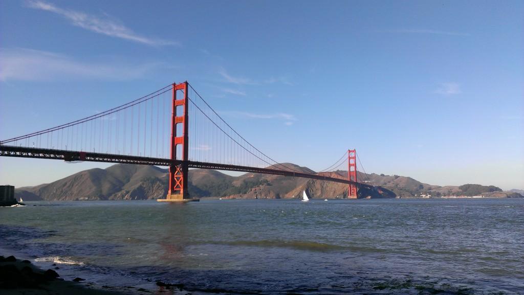 So long San Francisco! Image: Will Morgan