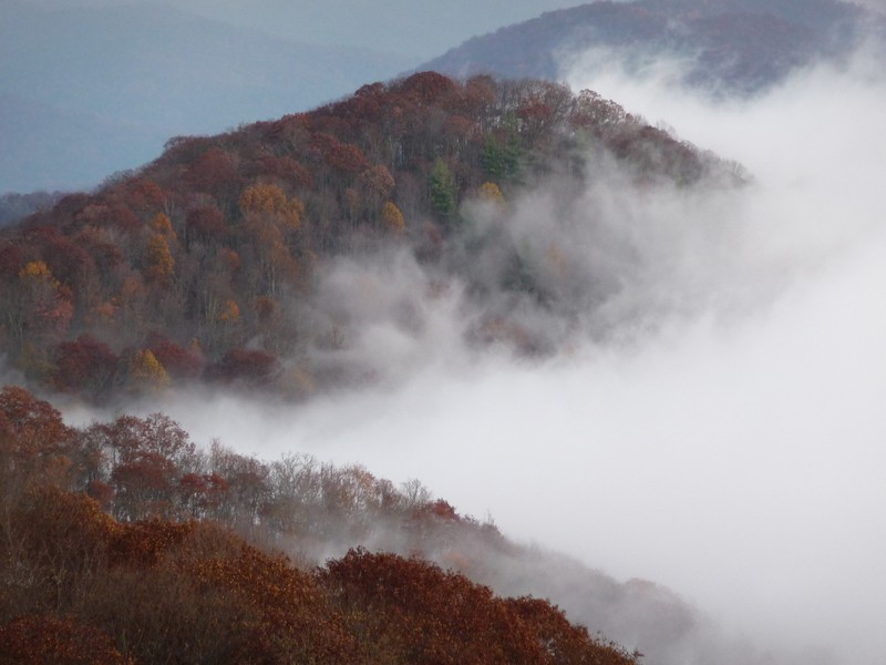 Morning fog in the Great Smoky Mountains. Image from EGU Imaggeo image repository and is provided by Oliver Pratt.