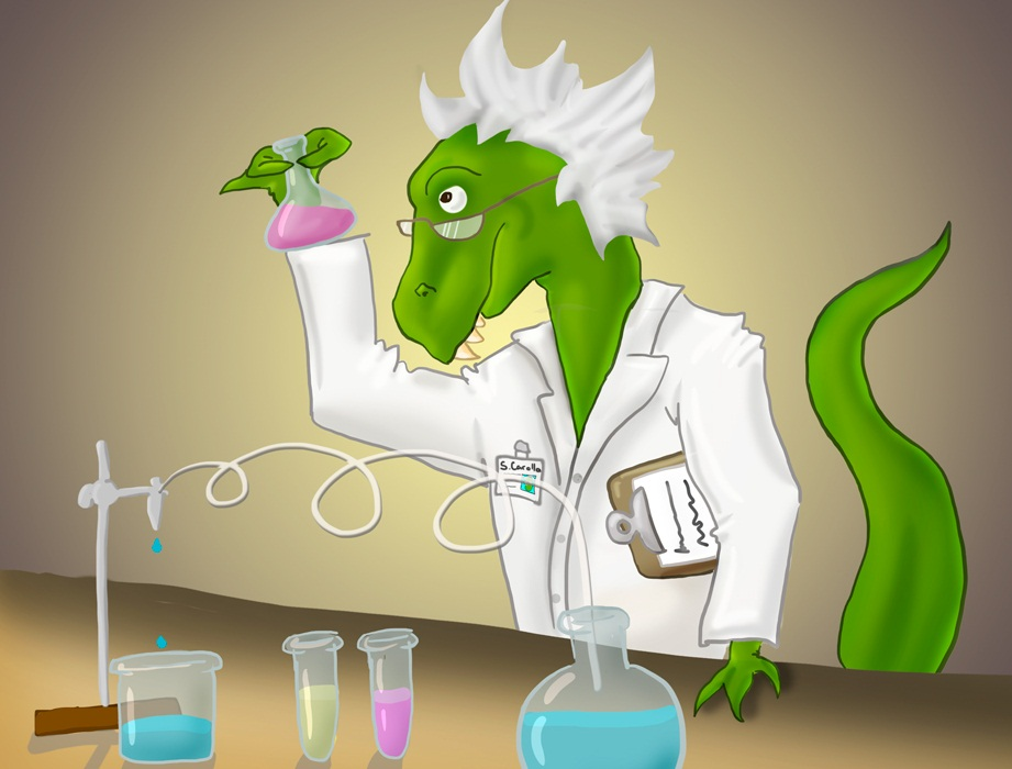 Maybe some dinosaurs were pretty awesome at experimenting? (source)