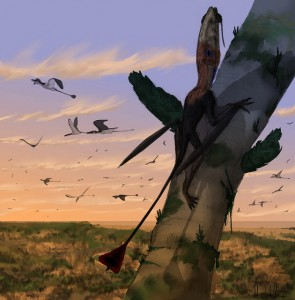 Were pterosaurs duking it out against birds for millions of years? (source)