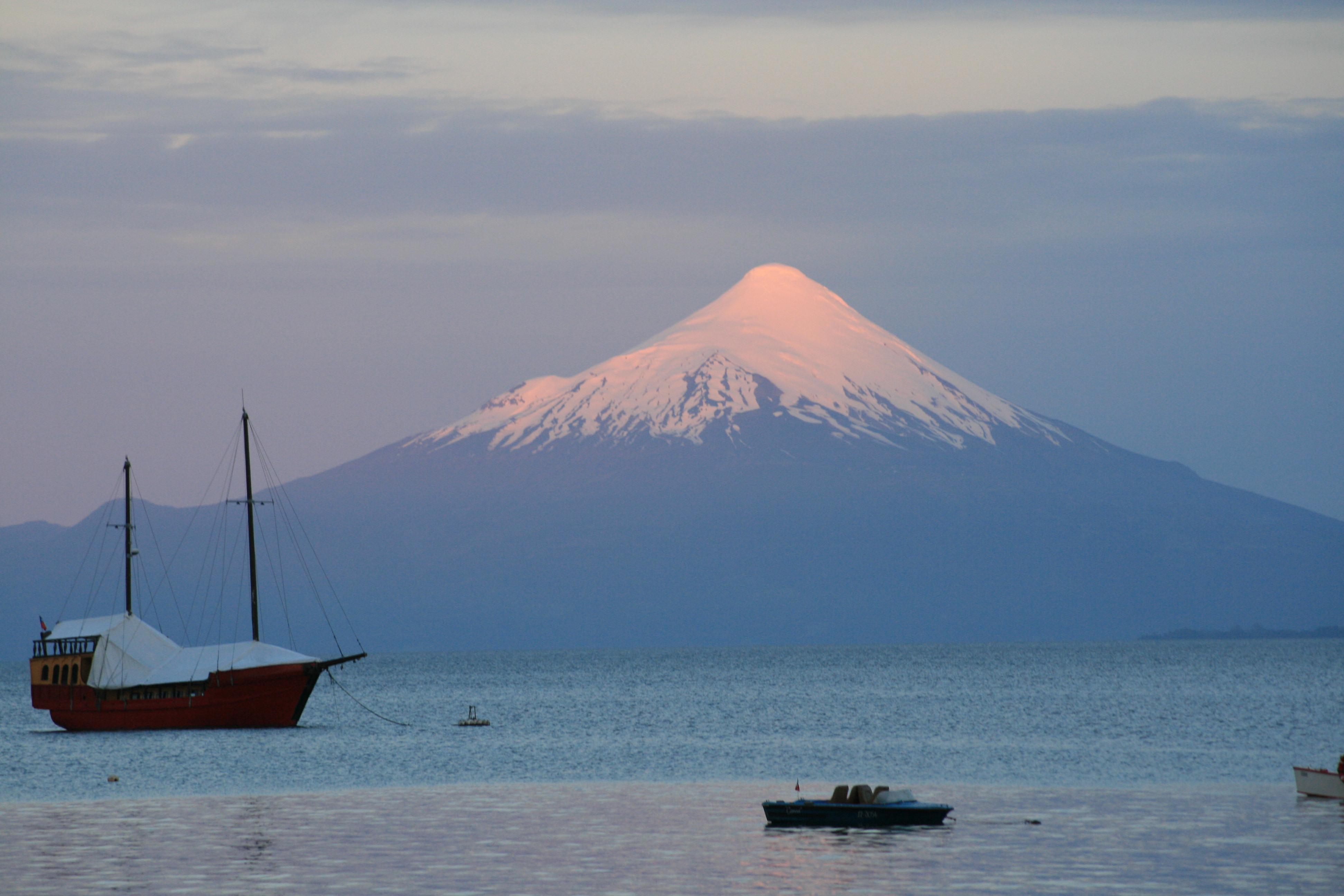 Volcan Osorno, overlooking Lago Llanquihue, Chile