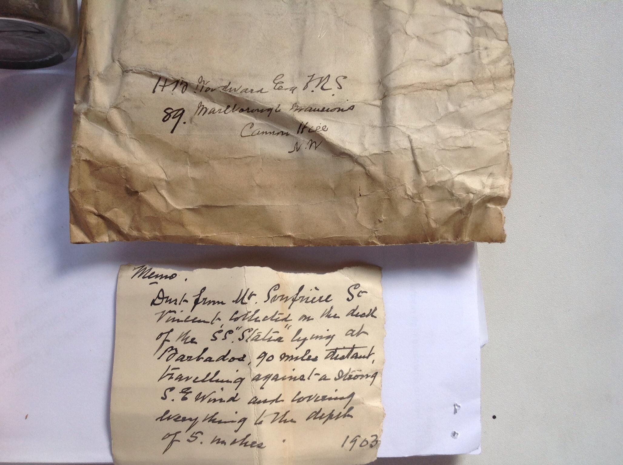 1902 Barbados ash