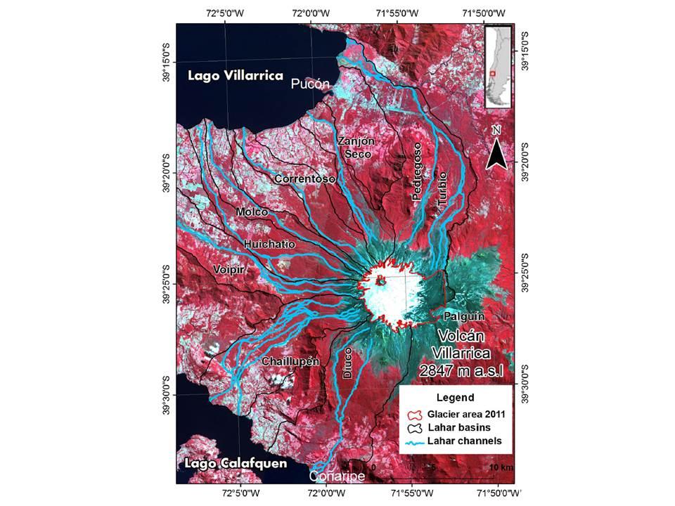 Lahar map