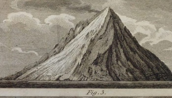 The smallest volcanic island in the world?
