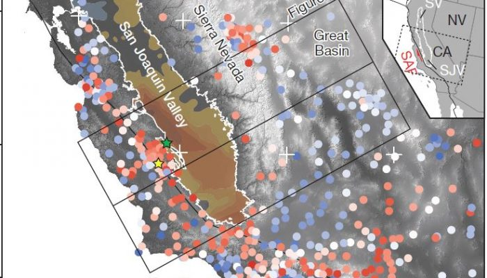 Groundwater extraction can move mountains