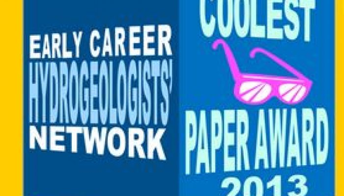 and we have a winner….Coolest Hydrogeology Paper of 2013 Winners announcement