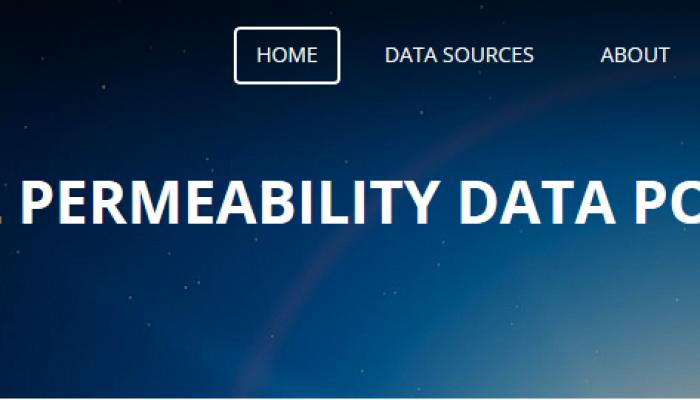 A new data portal for permeability!