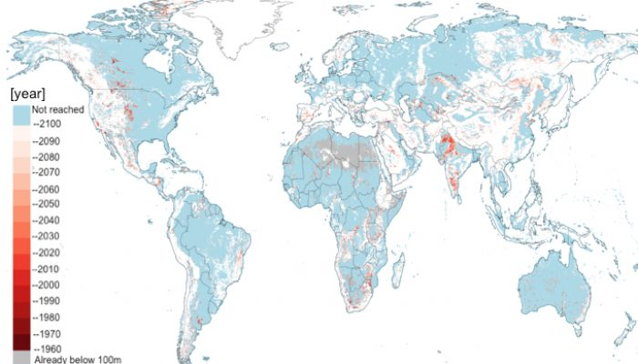 Limits to global groundwater use