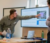 Research mini-conference in fourth year groundwater class
