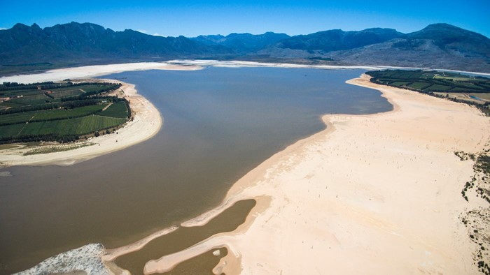 Water underground water low levels in cape town south africas reservoir system image source university of cape town news ccuart Choice Image
